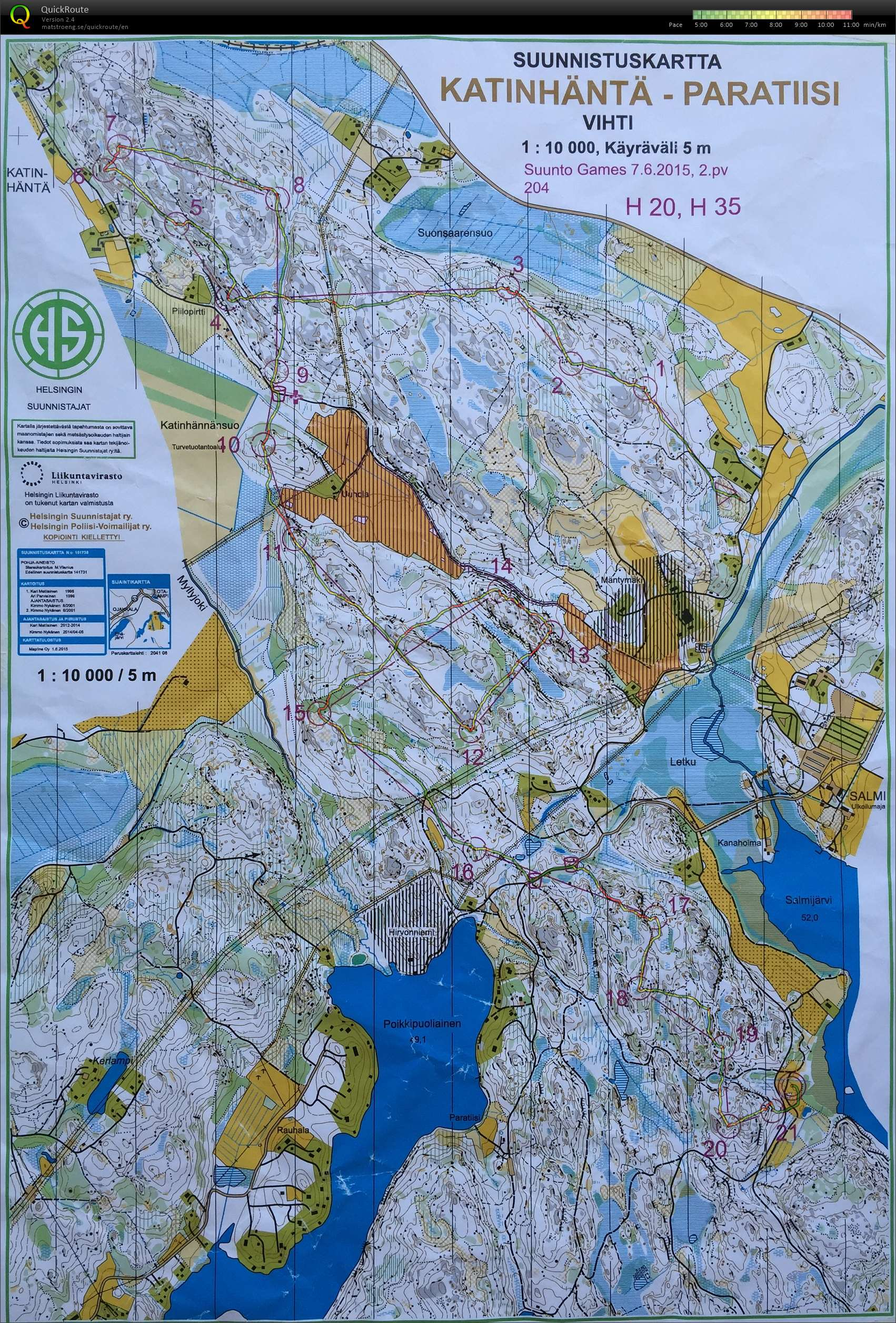 Suunto Games 2015 Day2 (07/06/2015)